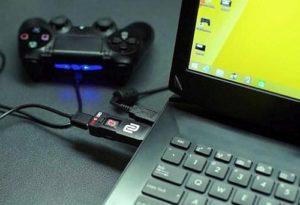 Rocket League - как подключить джойстик PS4 Dualshock4 к компьютеру Windows 10